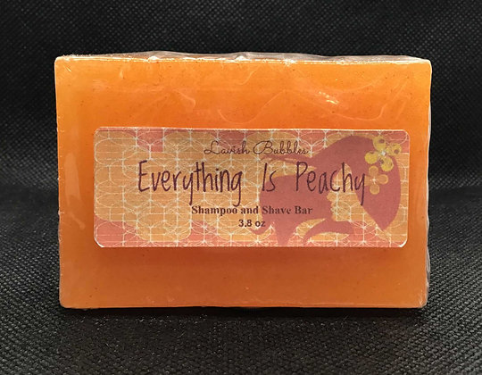 Everything Is Peachy Shampoo and Shave Bar