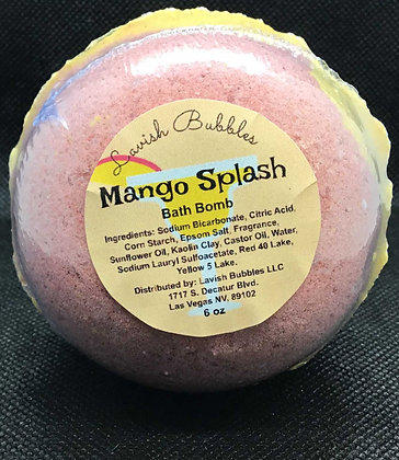 Mango Splash Bath Bomb