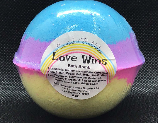 Love Wins Bath Bomb