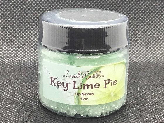 Key Lime Pie Lip Scrub