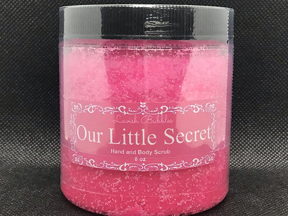 Our Little Secret Hand and Body Scrub