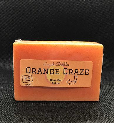 Orange Craze Soap Butter Bar