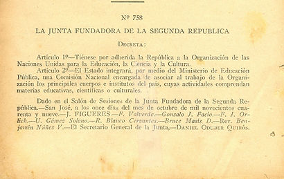 Historia de Comision UNESCO CR
