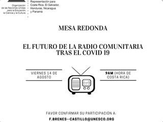 Mesa Redonda: El futuro de la Radio Comunitaria tras el COVID-19