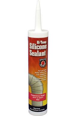 Meeco's Hi -Temp Silicone Sealant -Red #613