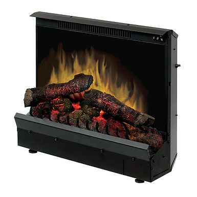"""Deluxe 23"""" Log Set Electric Fireplace Insert -DF12310"""