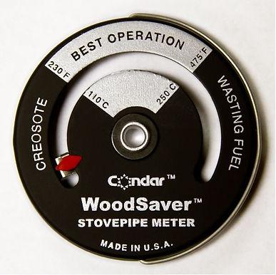 Condar Stove Pipe Thermometer 3-16