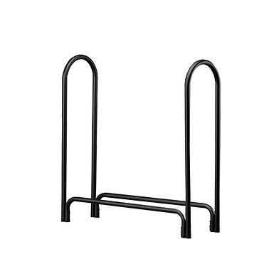 Black Tubular Log Rack-Medium