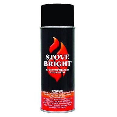 Stove Bright High Temperature Paint-Black