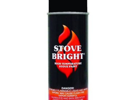 Stove Bright High Temperature Paint-Black