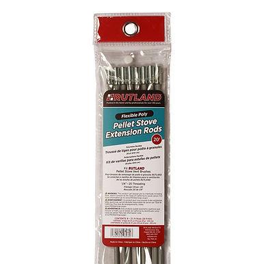 Rutland Flexible Poly Pellet Stove Extension Rods