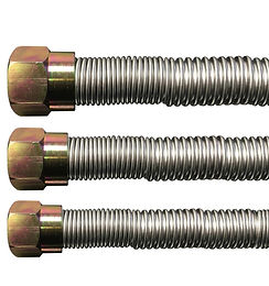 """22"""" T200 Series Tranquiline Stainless Steel Flex Connector"""