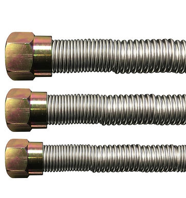 """46"""" T200 Series Tranquiline Stainless Steel Flex Connector"""