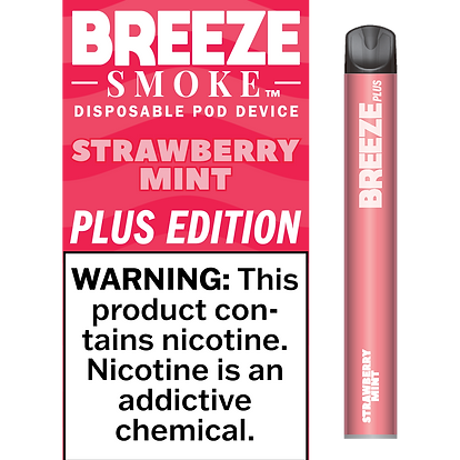 Strawberry Mint - 5% NIC