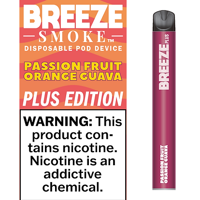 Passion Fruit Orange Guava - 5% NIC