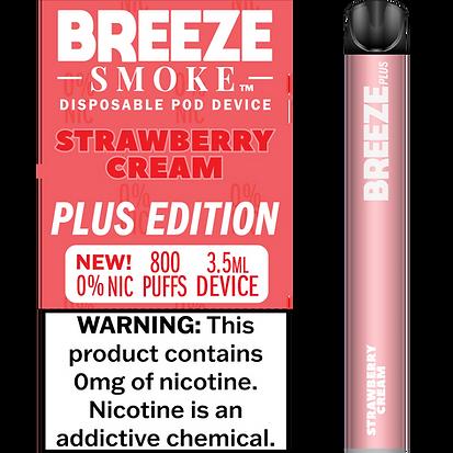 Strawberry Cream 0% Nic
