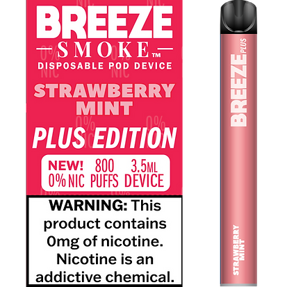 Strawberry Mint 0% Nic