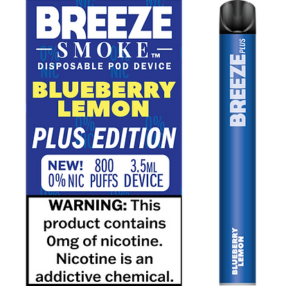 Blueberry Lemon 0% Nic