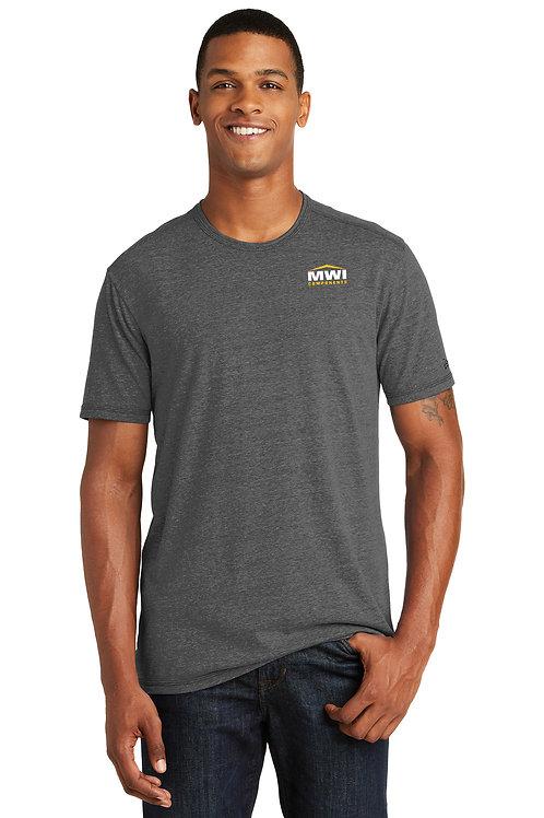 NEA130 MWI CORNER Logo: Mens' T-Shirt (New Era Brand)