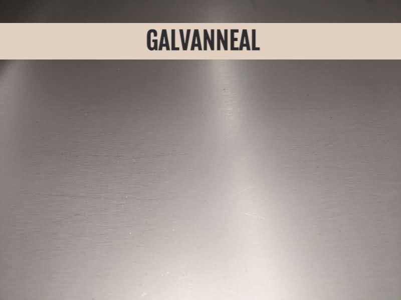 galvanneal steel, galvanneal substrate