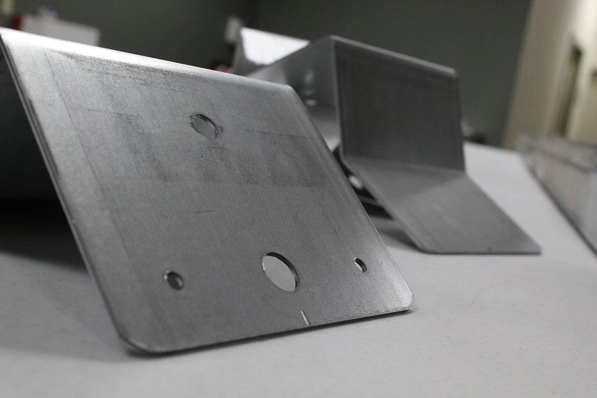 Square track brackets