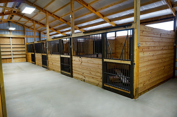 Horse stalls image