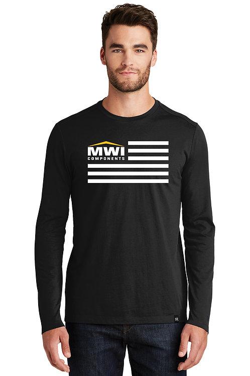 NEA102 MWI FLAG Graphic: Long Sleeve T-Shirt Swag