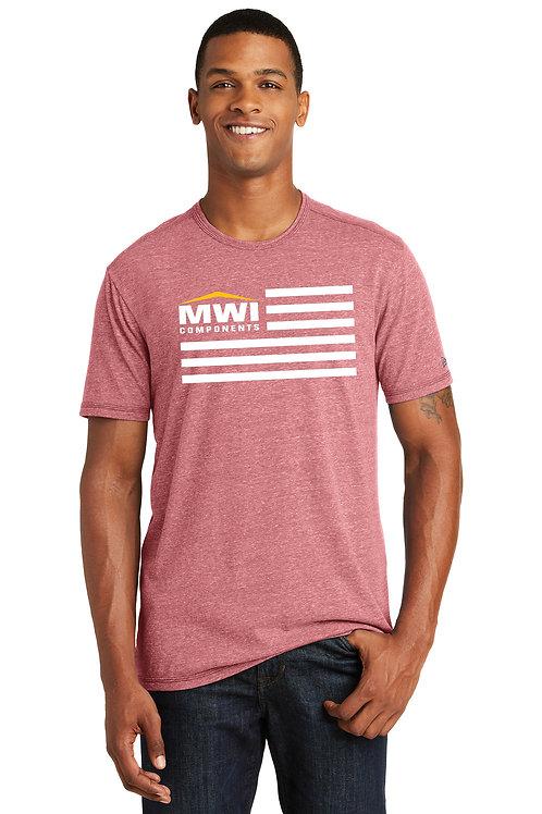 NEA130 MWI FLAG Graphic: Mens' T-Shirt (New Era Brand) Swag