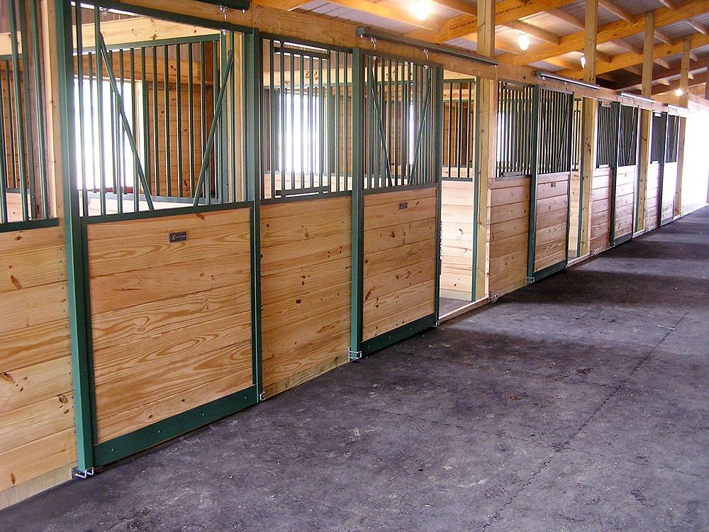 MWI horse stalls