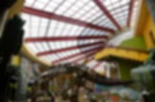 Museum with Polycarbnate Skylight