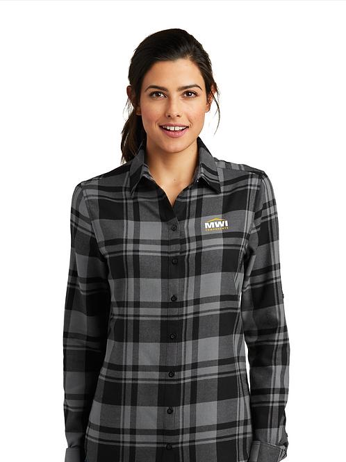 LW668 Womens' Flannel Swag