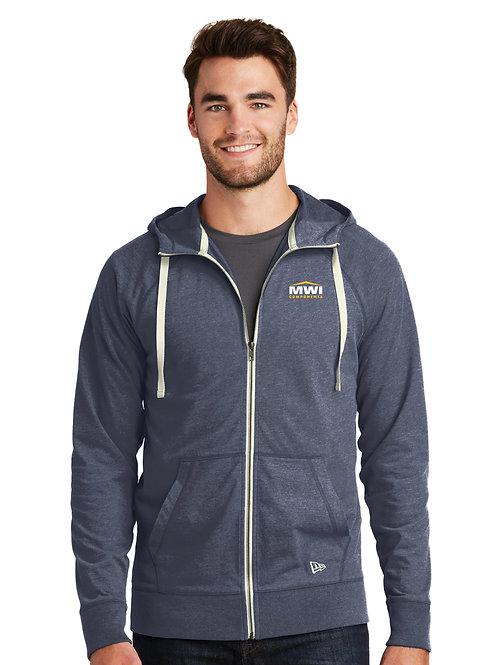 NEA122 - Mens' Front Zip Hooded Sweatshirt Swag