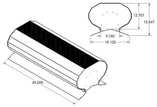 RV400 dimensions
