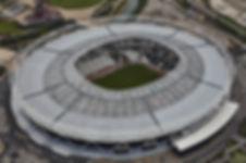 Stadium with Polycarbonate Skylight