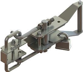 raptor latch with lock