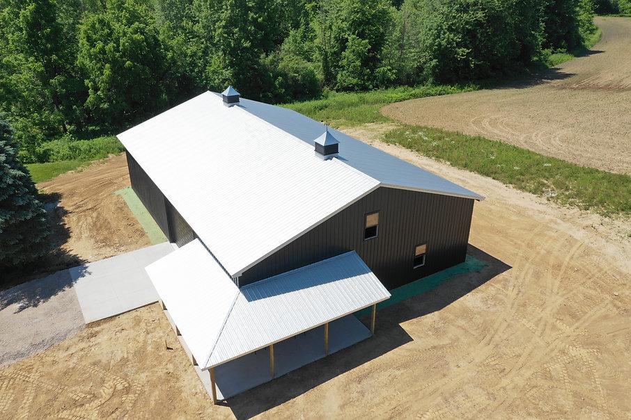 Building with Cupolas