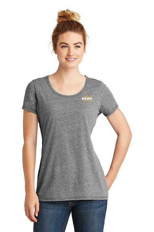 LNEA130 MWI CORNER Logo: Womens' T-Shirt (New Era Brand)