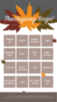 Thanksgiving Instagram Story Template