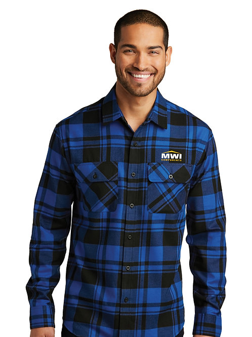 W668 Mens' Flannel Swag