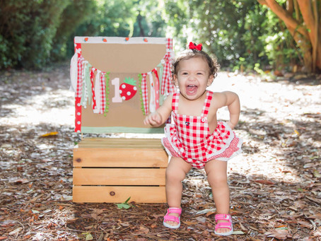 First Birthday Session, Spanish River Park