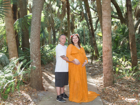 Maternity Session, Delray Oaks Natural Area