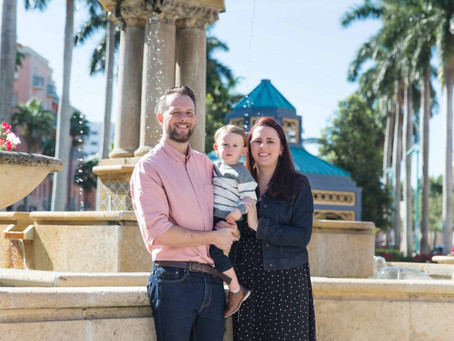 Family Session, Mizner Park
