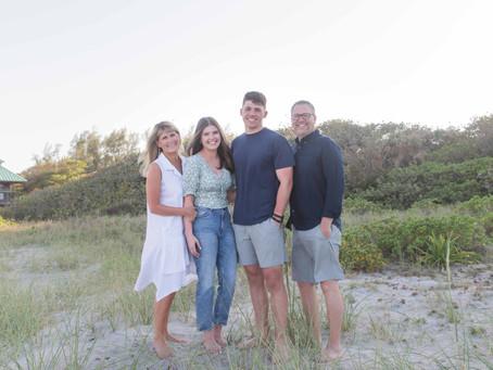 Family Session, Spanish River Beach
