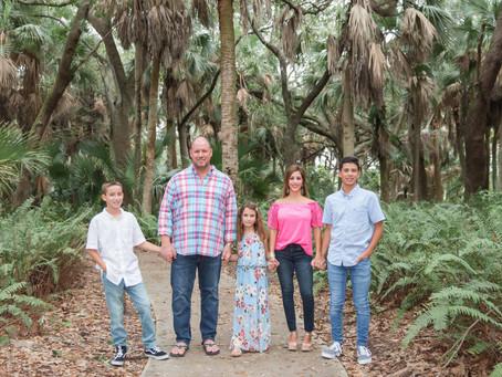 Family Session, Delray Oaks