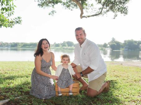 Family Session, Lake Ida Park