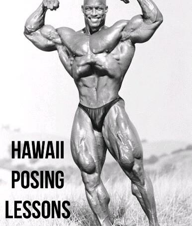 Shawn Ray Posing Lessons!