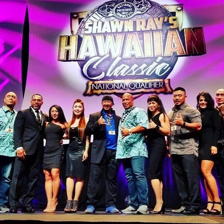 7 weeks to go until NPC Shawn Ray Hawaiian Classic III