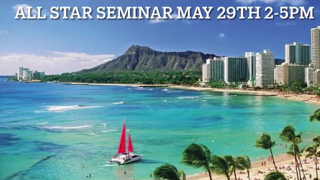 Breon Ansley returning to Hawaii May 29th!