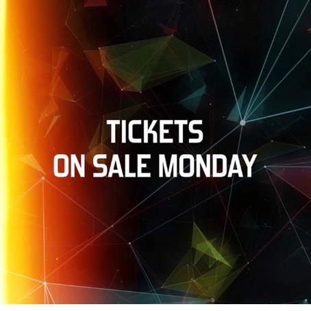 Tickets On-Sale Monday!