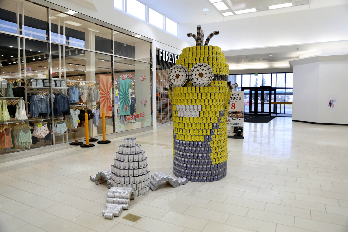 Kevin Minion CANstruction.jpg